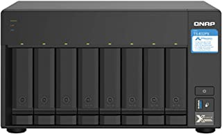 QNAP TS-832PX-4G 8 Bay Desktop NAS Enclosure - 4GB RAM, AnnapurnaLabs 4-core, 1.7GHz Processor - with 10GbE SFP+ and 2.5GbE
