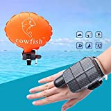 Sdoveb Anti-Drowning Bracelet, Lifesaving Bracelet, Portable Water Rescue Tool, Wearable Floating Wristband, Swimming Safety Device, for Adults and Kids (Orange)