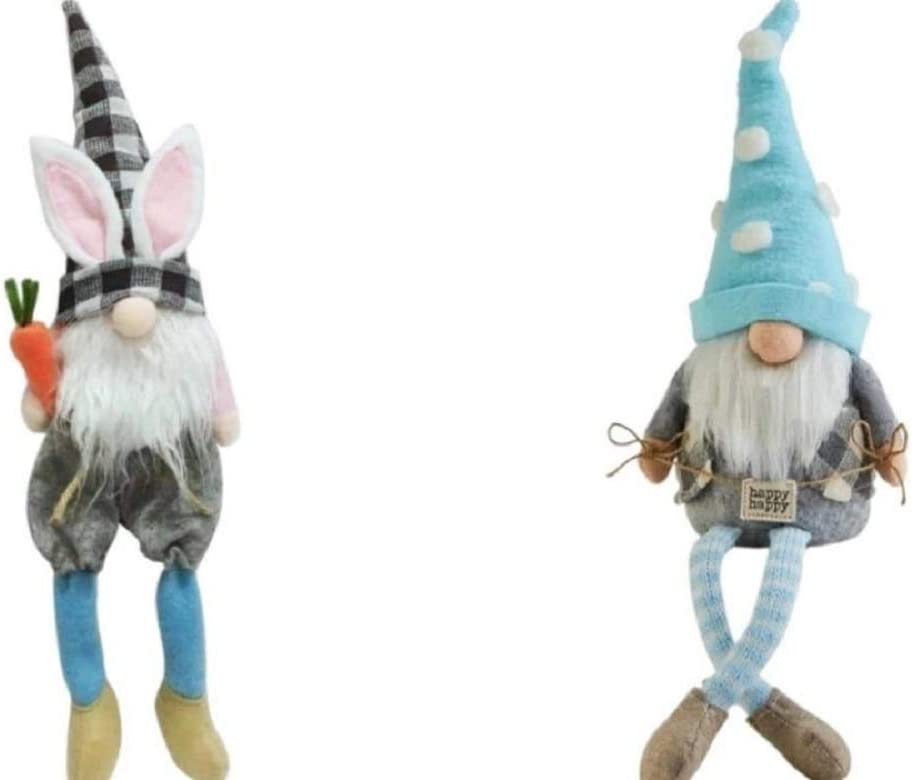 Gnomes Faceless Easter Spring Bunny T Fun Manufacturer OFFicial Rare shop or Rustic Gnome