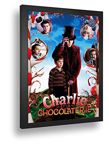Quadro Decorativo Poste A Fantastica Fabrica De Chocolate