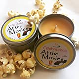 Buttered Popcorn Scented Soy Candle
