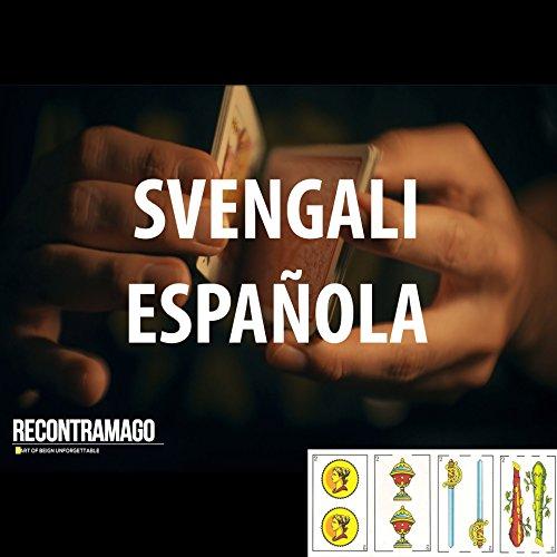 RecontraMago Magia - Juegos de Magia - Baraja Mágica Profesional Svengali + Acceso Area Secreta VIDEOTUTORIALES Online con Trucos de Magia por Magos Profesionales (ESPAÑOLA)