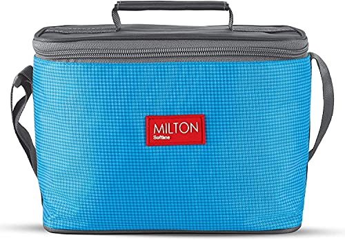 Milton Delicious Combo Stainless Steel Insulated Tiffin, Set of 4, (3 Container, 1 Tumbler)Blue