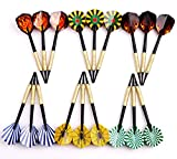 MAXMAU 18 pcs of Soft Tip Darts 10g Slim for Electronic Dartboard
