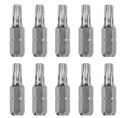 kwb 10er Torx 20 Industrial Steel Bit-Set, 25 mm Bits, 1/4'' Außensechskant