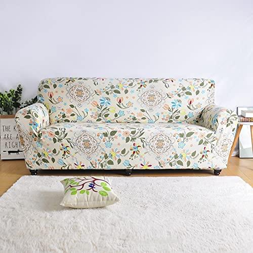 MKQB Funda de sofá de Sala de Estar, Funda de sofá elástica elástica, Funda de sofá Antideslizante con combinación de Esquina en Forma de L NO.8 2seat-M- (145-185cm