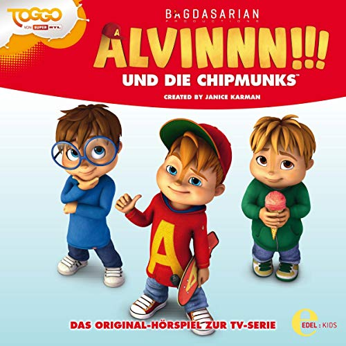 Alvinnn!!! und die Chipmunks 4. Das Original-Hörspiel zur TV-Serie Titelbild