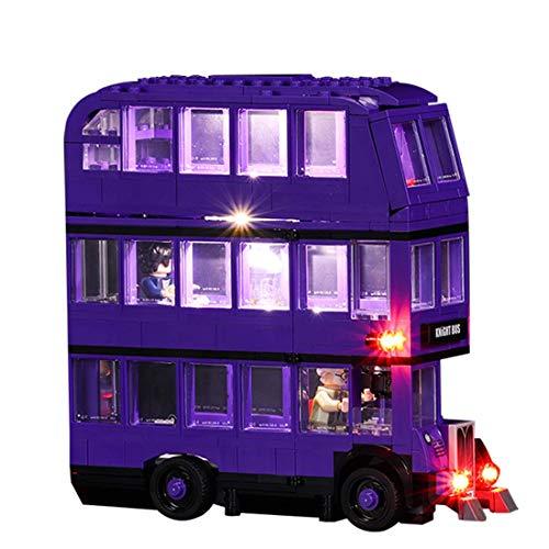 LED Lighting Kit para Lego 75957, Conjunto de Luces con batería Compatible con Lego Knight Bus 75957 Bloques de construcción (no Incluyen el Conjunto Lego)