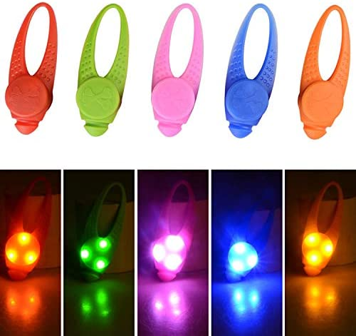 5 Pack LED Light Up Dog Collar Light Waterproof Dog Cat Pet Safety Strobe Harness Leash Necklace product image