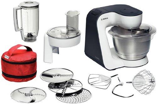 Bosch MUM52E32 robot da cucina 3,9 L Antracite, Bianco 700 W