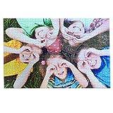 LolaPix Novedad Puzzle Personalizado 1000 Piezas Mate. Personaliza con tu Foto. Puzzle Cartón Acabado Mate. Varios tamaños. 1000 Piezas