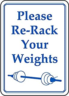 please re rack the weights