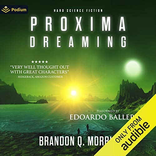 Proxima Dreaming audiobook cover art