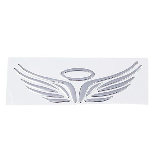 4cb7ef6f8 Decal Auto - TOOGOO(R) 3D Chrome Angel Wing Sticker Decal Auto Car Emblem