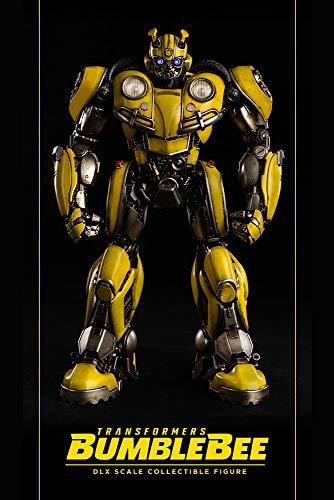 3A Transformers: Bumblebee Deluxe Scale Figure, Multicolor