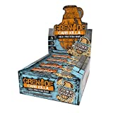 Grenade Carb Killa High Protein and Low Sugar Candy Bar, 12 x 60 g - Chocolate Chip Cookie Dough