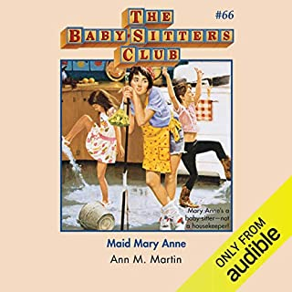 Maid Mary Anne audiobook cover art