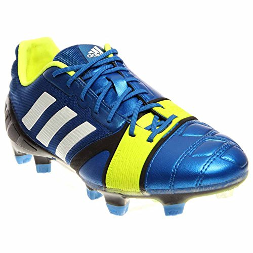adidas Nitrocharge 1.0 TRX Firm Ground [Blue Beauty/Running White/Electricity] (10)