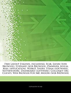 Articles on Free Layout Engines, Including: Icab, Safari (Web Browser), Epiphany (Web Browser), Omniweb, Adium, Mail (Appl...