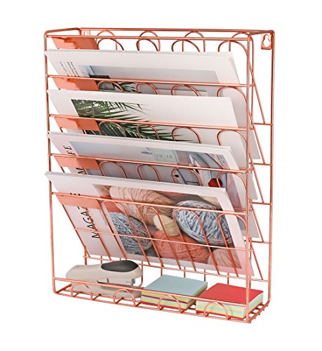 New Superbpag Hanging File Organizer, 6 Tier Wall Mount...