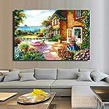GJQFJBS Canvas Art HD Print Beautiful Impression Country Modern Home Decoración de la Pared Pintura A6 70X100cm