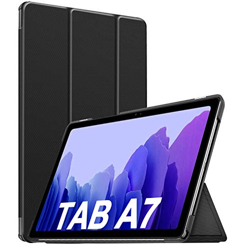 Sross für Samsung Galaxy Tab A7 Hülle, für Samsung Galaxy Tab A7 10.4 Zoll 2020 Hülle Case, Hülle für Samsung Galaxy Tab A7 10.4, Cover Case für Galaxy Tab A7(T500/T505/T507), Schwarz