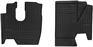 Frogum 00782 05 Gummimatten Auto Fußmatten Gummi Passgenau 2 teiliges Automatten Set Schwarz