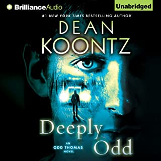 Deeply Odd audiobook cover art