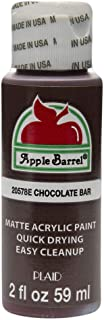 Apple Barrel Acrylic Paint in Assorted Colors (2 oz), 20578, Chocolate Bar