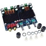Reland Sun Amplificador de audio Junta 2.1 Canal Digital Audio Power 12-26VDC Amplificador Módulo para Altavoz de 4-8 Ohms