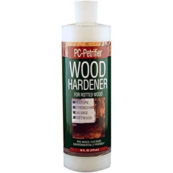PC Products PC-Petrifier Water-Based Wood Hardener, 16oz, Milky White 164440, 16-Ounce