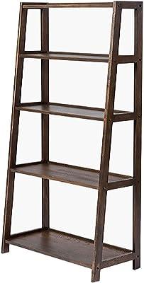 Amazon.com: Estantería estrecha de 4 estantes de la ...