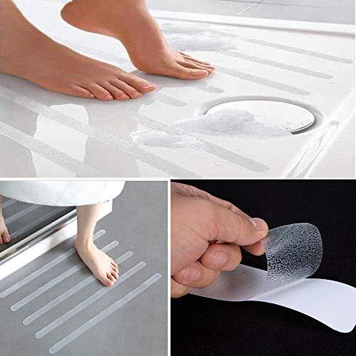 NGHXZ 12 Stks/6 stks Plastic Anti-slip Bad Grip Stickers Keuken badkamer woonkamer Niet Slip Douche Strips Vloerbedekking Veiligheid Zelfklevende