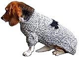 Schwarzer Strickpulli XXL mit Knochen für Hunde – Stark reduziert – Dogs Stars - 3