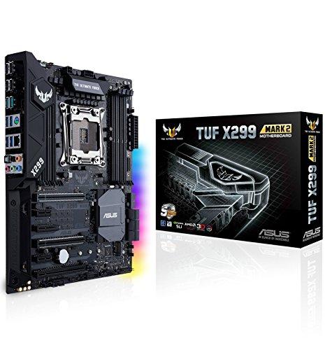 ASUS TUF X299 MARK 2 Scheda Madre, Socket 2066 ATX, Dual M.2, USB 3.1