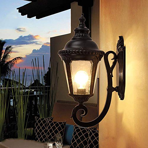 Wandlamp glazen spiegel voorlicht klassiek zwart tuin verlichting wandlamp verlichting verlichting verlichting verlichting verlichting Pequeño