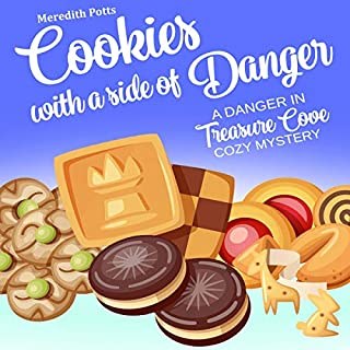 Cookies with a Side of Danger audiobook cover art