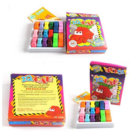 hahuha Toy ? Busy Hour Puzzle-Spiel Spaß Rush Hour Traffic Jam Logik-Spiel Spielzeug Kompatibel mit...
