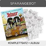 CAGO Panini 60 Jahre Asterix - Sammelsticker - Komplettsatz + Album -