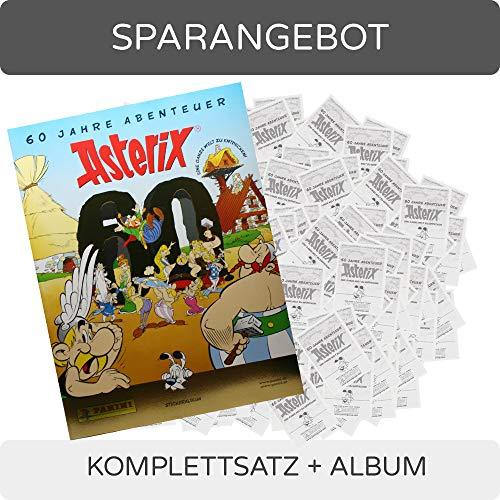 CAGO Panini 60 Jahre Asterix - Sammelsticker - Komplettsatz + Album