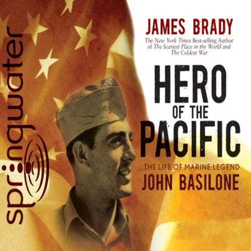 Hero of the Pacific audiobook cover art