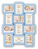 ZEP Pietro - Portafotos múltiple Infantil, Color Azul