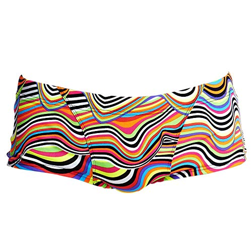 Funky Trunks Mens Classic Trunks Dripping Badehose (S)