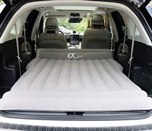 topfit Auto aufblasbare Matratze Travel Camping Air Bed Universal für alle SUV-Fahrzeuge und angepasst für Tesla Model S Model X 5 Seat und Model 3 Model Y