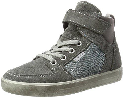RICOSTA Mädchen Marle Hohe Sneaker, Patina/Himmel, 00037 EU