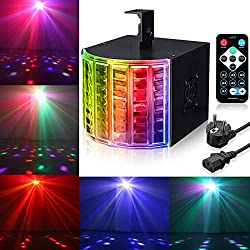 DJ Lights, SOLMORE18W DMX512 RGB LED Party Lights