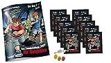 Blue Ocean Die 3 ??? DREI Fragezeichen Sticker (2020) - 1 x Sammelalbum + 10 Stickertüten je 4 Sticker +1 Trading Card zusätzlich 1 x Fruchtmix Sticker-und-co Bonbon
