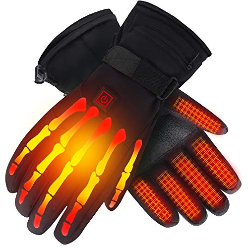 Heated Gloves with Rechargeable Battery for Men Women for Arthritis Hands,7.4V,L
