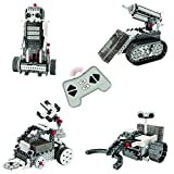 Think Gizmos Build Your Own Robot Toys for Kids – Ingenious Machines Remote Control Robot Building Kit (Space Vehicles)
