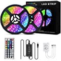 Led Strip Lights 32.8ft/10M with 44 Keys IR Remote and 12V…